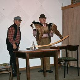 Wolfgang Rosummek und Werner Burkat als Pferdehändler