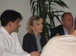 Doris Schröder-Köpf beim Rot-Grünen Dialog in Barsinghausen