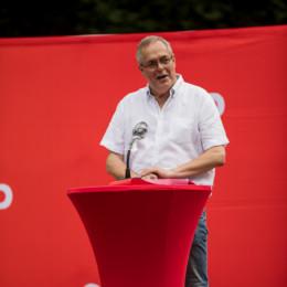 Ortsvereinsvorsitzender Reinhard Dobelmann