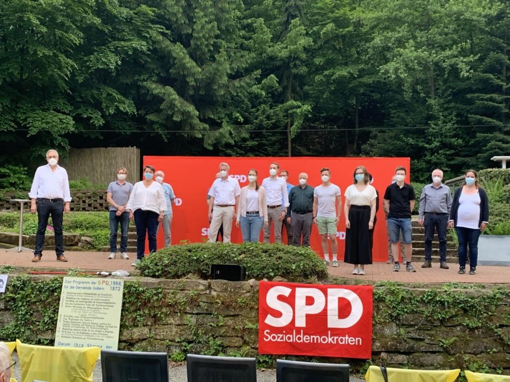 Kandidierende im Wahlbereich I
