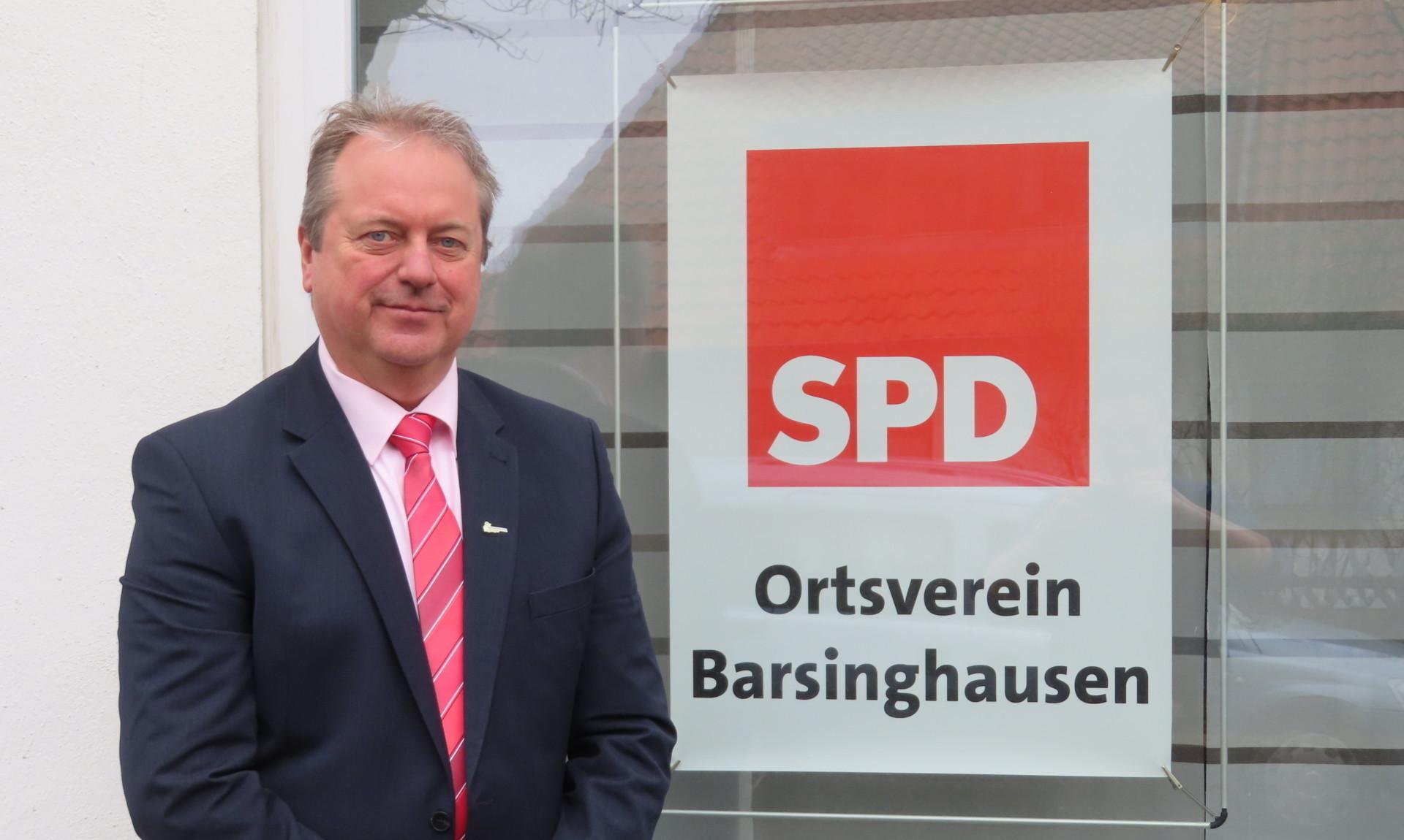 Designierter Bürgermeisterkandidat Henning Schünhof