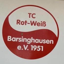 Wappenschild des TC Rot-Weiß Barsinghausen e.V.