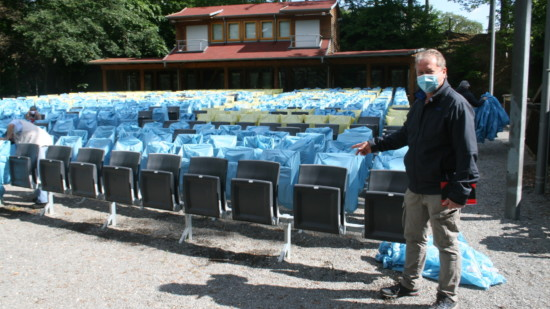 Henning Schünhof erstellt das Hygienekonzept für die Wahlversammlung am 26. Juni