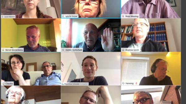 Virtuelle Fraktionssitzung