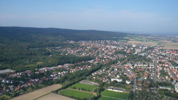 Barsinghausen aus der Luft