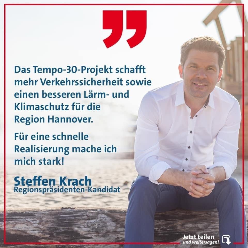 Steffen Krach: Tempo 30